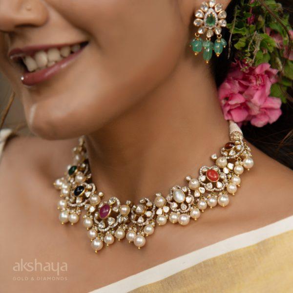 Rosecut Diamond Necklace RD30207