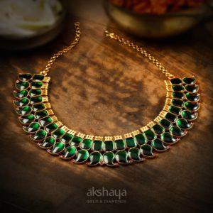 Akshaya Gold Necklace GL10285
