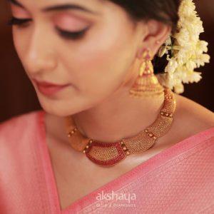 Akshaya Gold Necklace GL10289