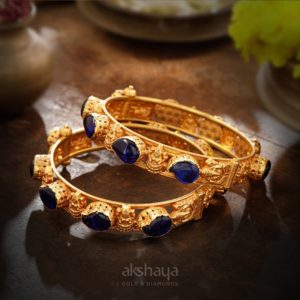 Akshaya Gold Bangle GL10333