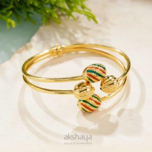 Akshaya Gold Bracelet GL10816