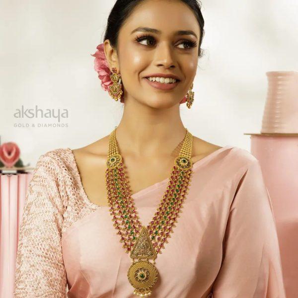Akshaya Gold Necklace GL10290