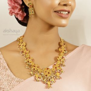 Akshaya Gold Necklace GL10291