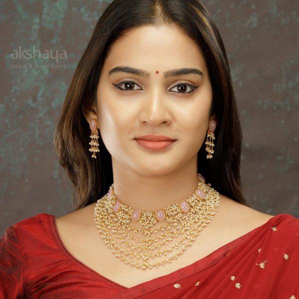 Akshaya Gold Necklace GL10292