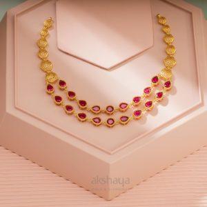 Akshaya Gold Necklace GL10293